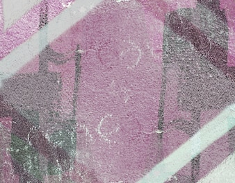 Border antique chalk stamp abstract