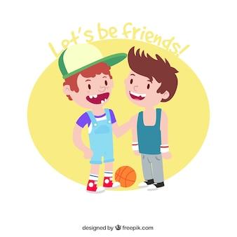Boys Friendship