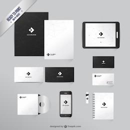 Branding identity template