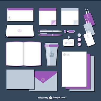 Branding vector pack