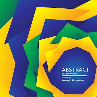 Brazilian abstract design free background