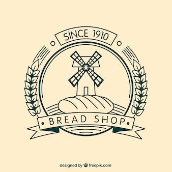 Bread shop badge
