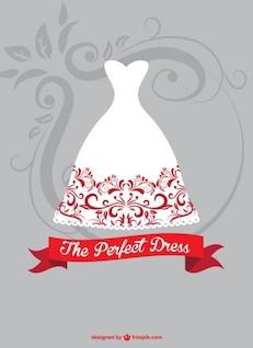 Bride dress graphic