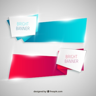 Bright banners