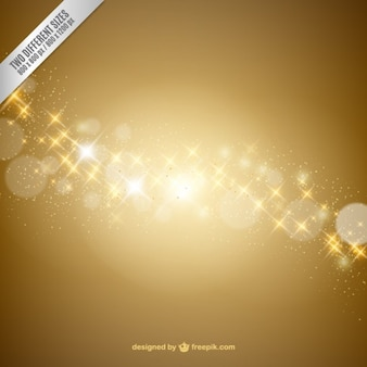 Bright golden background