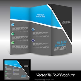 Brochure free vector graphics