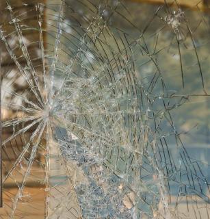 broken glass  sharp  broken  glass