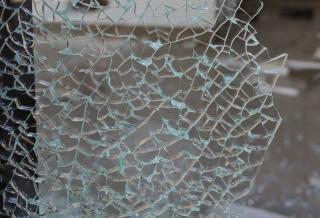 Broken glass  broken