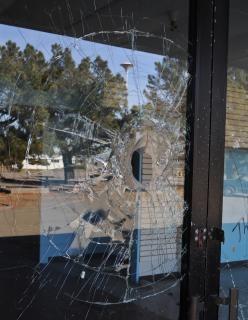 Broken glass  sharp  broken  shattered
