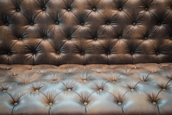 Brown leather texture .
