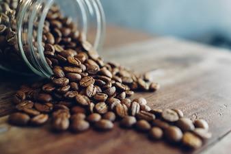 Brown produce morning barista modern