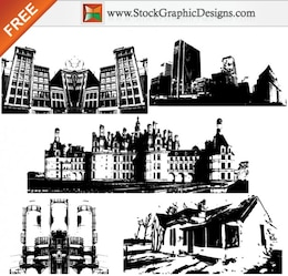 Buildings Free Vector Graphics