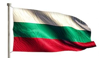 Bulgaria National Flag Isolated 3D White Background