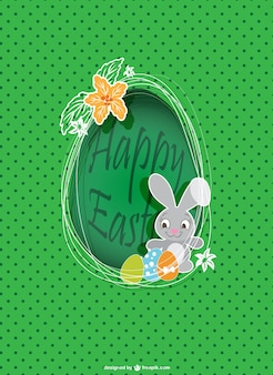 Bunny Easter design