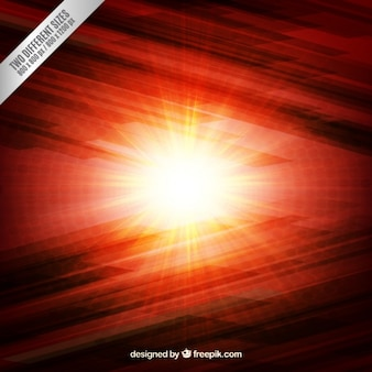 Burning light background