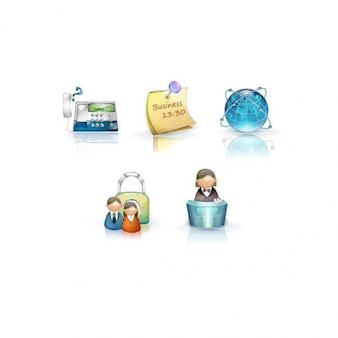 business creative icon illustrator vector
