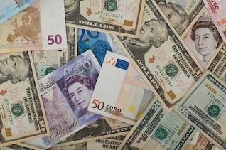 business currencies finance mixture