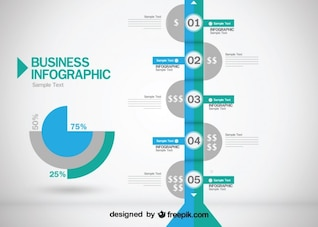 Business Evolution  Infographic Design