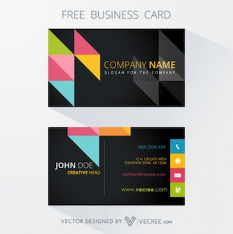 Business identify corporate card