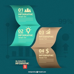 Business infography design