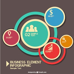 Business infography free for download
