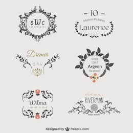 Business logo template vectors