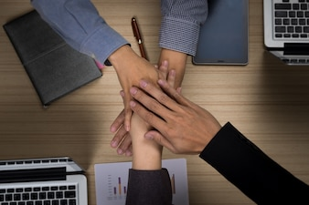 Business Team Teamwork Partnership Together Concept
