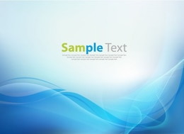 business technology wave vector background