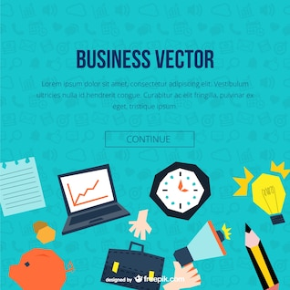 Business text template