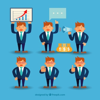businessman character