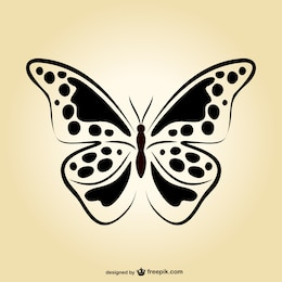 Butterfly vector art