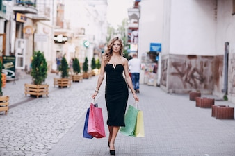 買い物店の大人のライフスタイル