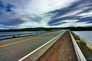 cabot trail   hdr  countryside