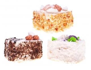 Cakes , decorated