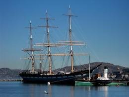 California, moored