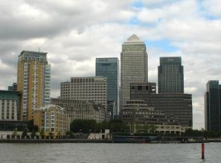 Canary Wharf, London, buildings