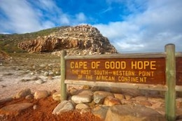 cape of good hope   hdr  blue
