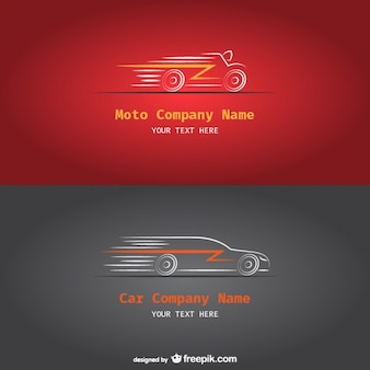Car and Moto company logos
