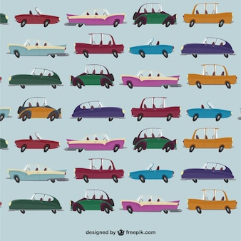 Car pattern vector