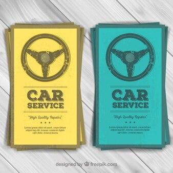 Car service flyers