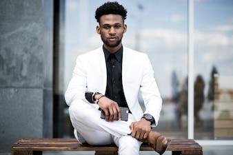 Car stylish suit shirt handsome professional