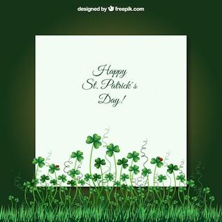 Card for st patricks day