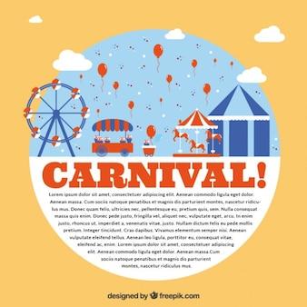 Carnival park flyer