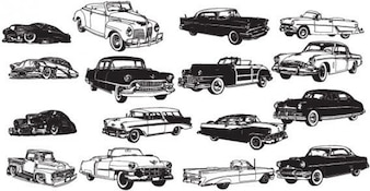 Cars free vector