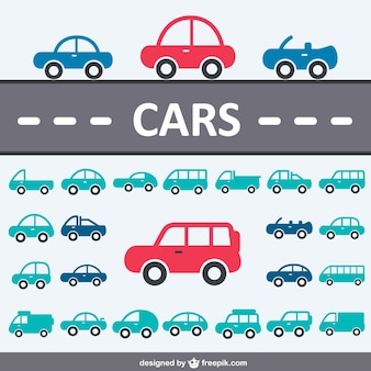Cars icon collection