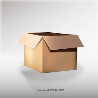 Carton box illustration vector