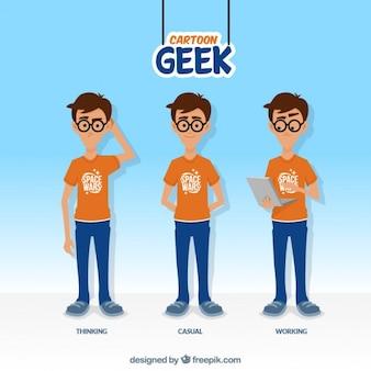 Cartoon geek