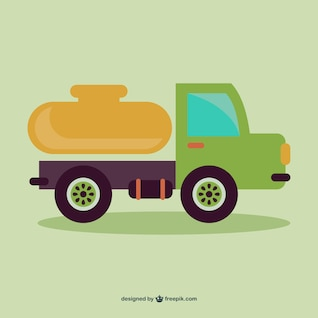 Cartoon truck vector
