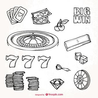 Casino graphic resources