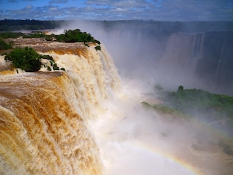 cataratas de waterfall brazil iguazu